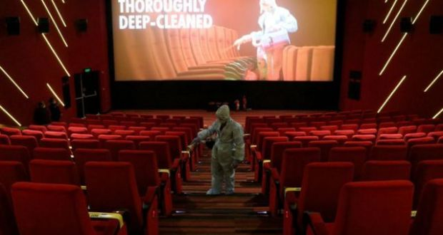 Indian Movie Theaters Reopen