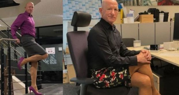 Meet A Married Man Who Enjoys Wearing Mini Skirts, High Heels