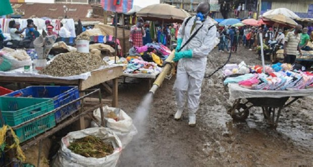 Coronavirus Cases In Kenya Edging
