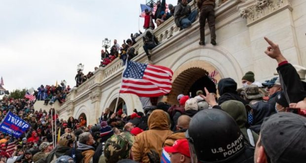 Protesters Attack The US Capitol Building