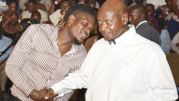 King Micheal Claims Museveni Secretly Asked For His Phone Number