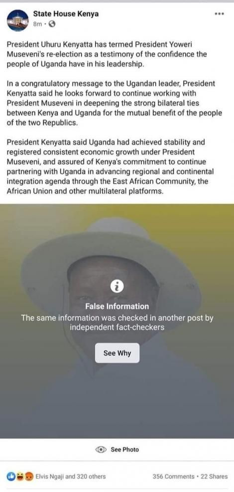 Facebook Vs Museveni: Did You Know That Facebook