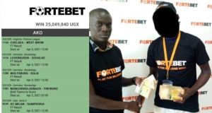 Fortebet Client Wins Over Shs25 Million With 1k Stake