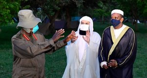 Mufti Menk And Museveni Meet In Kyankwanzi