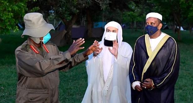 Mufti Menk And Museveni Meet In Kyankwanzi