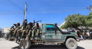 Fighting Breaks Out Among Somali Army Units Near The Presidents Residence