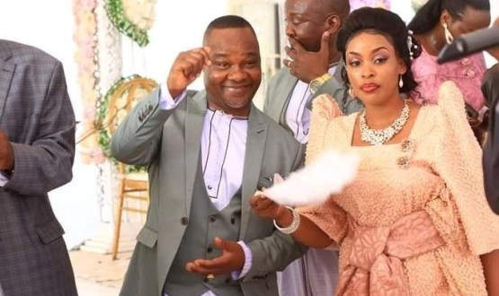 Tycoon Lwasa Says He Wants To Produce 30 Children, What His New Wife Said Is Shocking