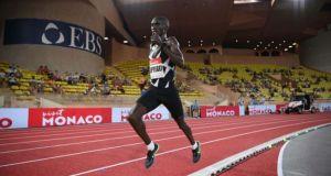 Uganda's Cheptegei Wins The Men's 3000 Meter Race In Ostrava
