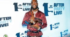 Burna Boy Clinches BET Award For Best International Act