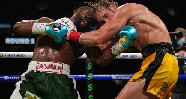 Paul Logan Survives Knockout In Mayweather Fight