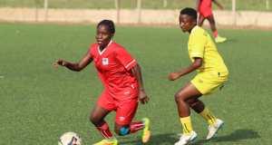 Crested Cranes Edge U20 Women's National Team In Practice