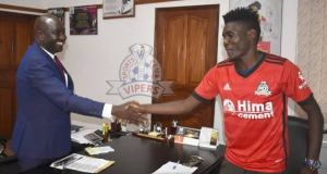 Vipers SC Have Announced The Departure Of Striker