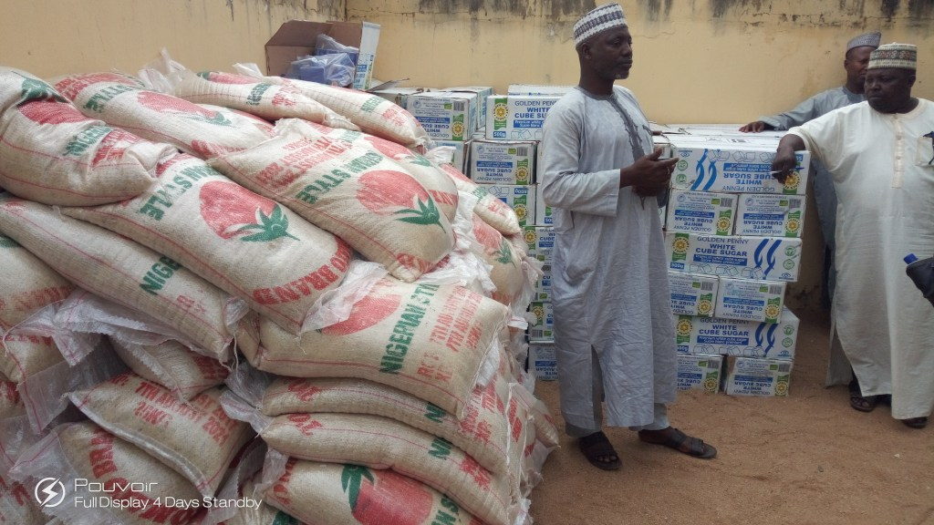 Hon. Namdas Distributes Food Items to Constituents as Ramadan Package
