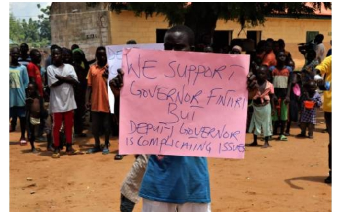 Leave Governor Fintiri Out, You're The Problem, Displaced Persons In Adamawa State, Reply Deputy Governor