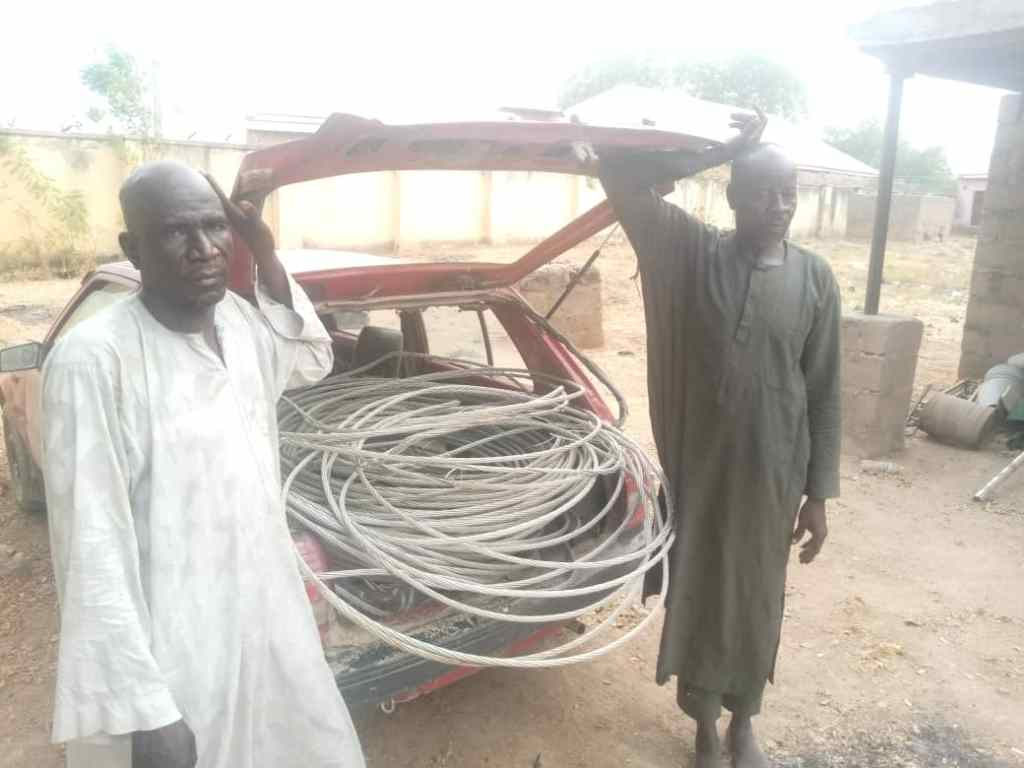 Adamawa Police Arrest 2 For Vandalising, Stealing YEDC Cables
