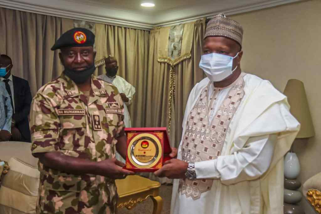 Acting GOC 3 DIV Visits Gombe, Pledges Continuous Support to Maintain Peace