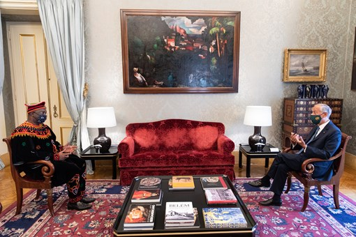 Ambassador Kefas Present His Letters of Credence to The President of Portugal