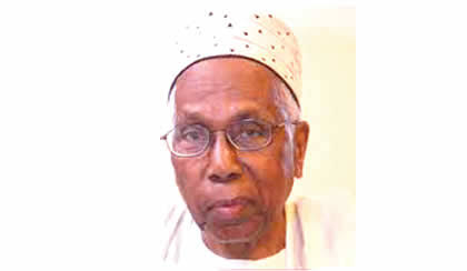 AUN President Dr. Maggee Ensign Mourns Alhaji Ahmed Joda