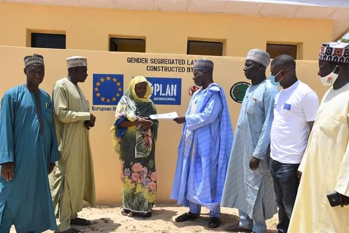 Plan Int'l Construct 101 Latrines, Water Pumps For Schools in Borno