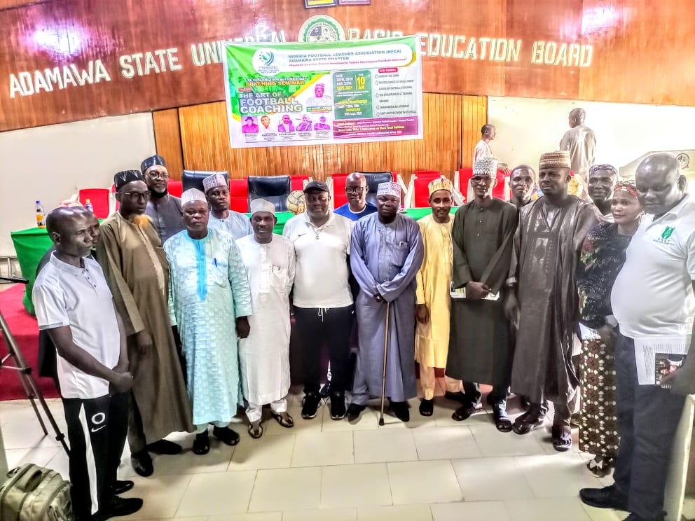 Adamawa Football Coaches Association Begins 3-Day Seminar For Grassroot Coaches