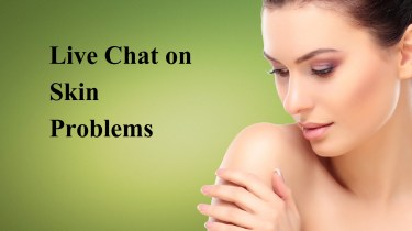 Live Chat on Skin Problem