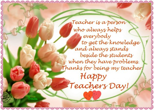 Happy Teachers Day Quotes, Messages Images Essay Speech ...