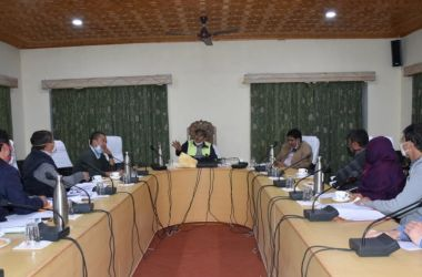 Administrative Secretary UT Ladakh reviews pace of progress on works under Cooperatives, Labour, Employment, ITI in Kargil