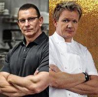 Gordeon Ramsay & Robert Irvine