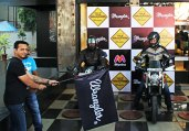 Wrangler Flags Off True Wanderers 4.0 in Indira Nagar Bangalore