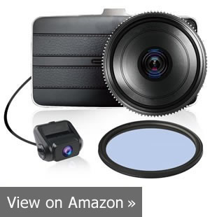 Best Anti-Glare Front and Rear Dash Cam