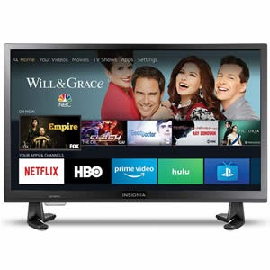 Insignia NS-24DF310NA19 24 Inch 720p HD Smart LED TV Review
