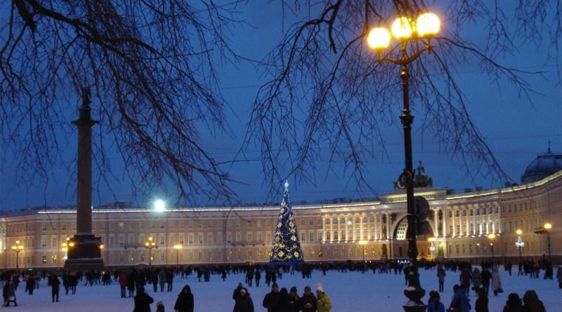 Погода в новогоднюю ночь 2017-2018 в Санкт-Петербурге