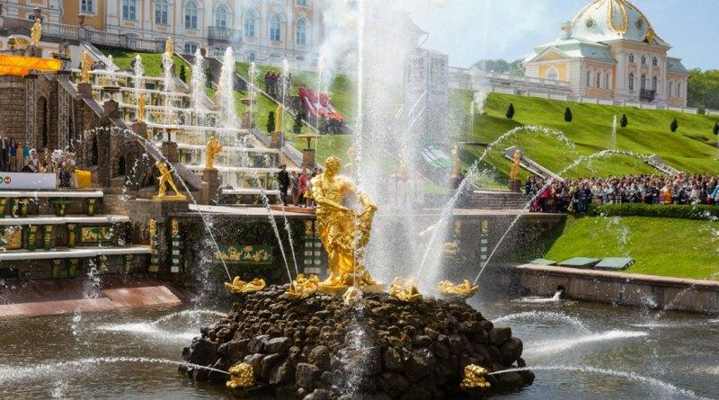 Закрытие фонтанов в Петергофе в 2019 году - расписание работы Большого каскада