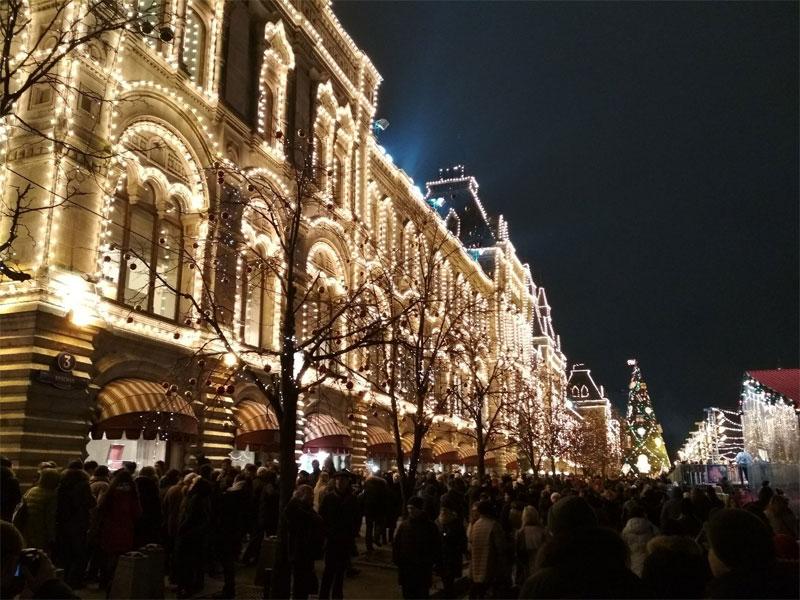 Погода в Москве в новогоднюю ночь 2019-2020