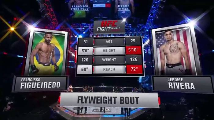 Francisco Figueiredo vs Jerome Rivera. UFC on ESPN 20. Full fight