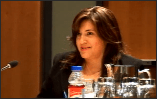 CAO Tracy Samra at the council meeting July 11. Said there was a summary chart and she had discussed it with staff.