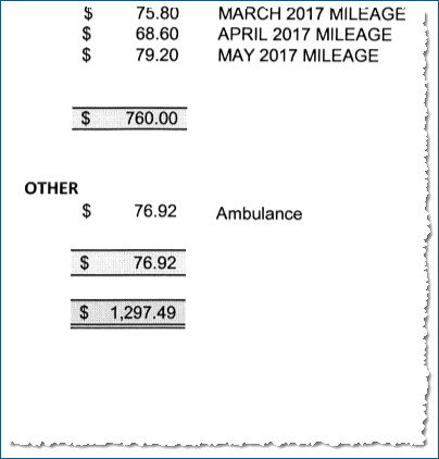 Ambulance bill