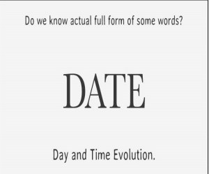 Full form of Date