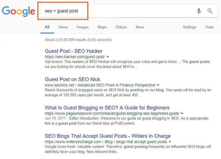 How to Find Guest Posting Websites