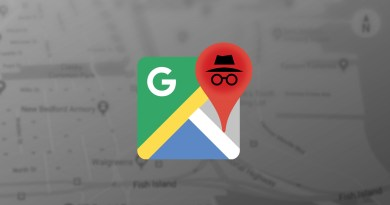 Incognito mode in google maps
