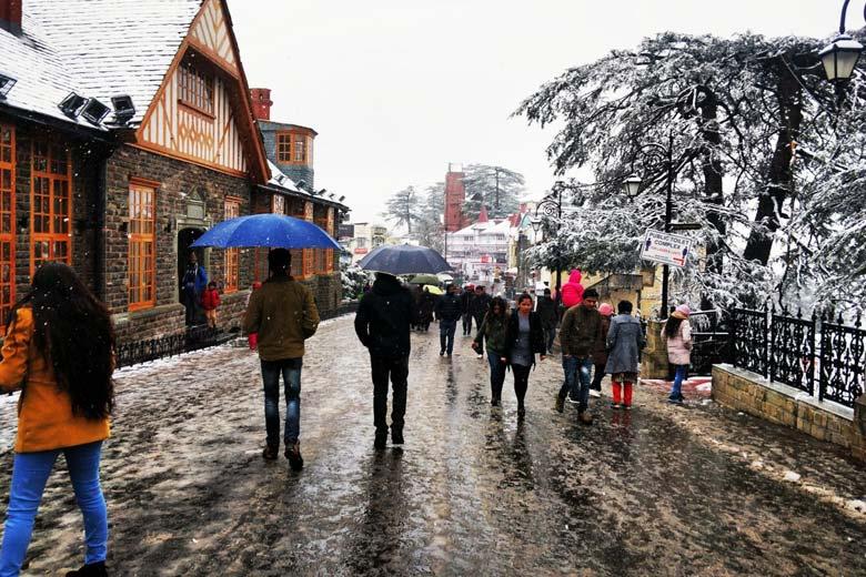 Shimla India - Places to Visist in Himachal Pradesh