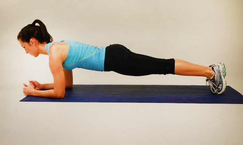 Plank the best exercise to get rid of stomach fat