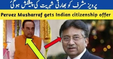 Prevez Musharraf Indian Citizenship