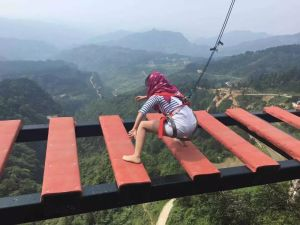 Gap Bridge of China most Dangerous Tourist Attractions in the World