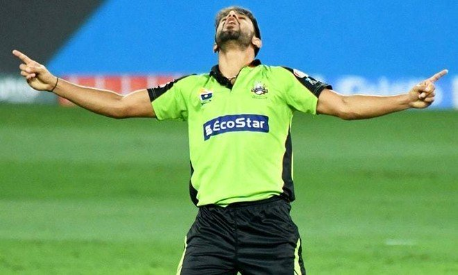 Haris Rauf is the first Pakistani who took hat trick in Big Bash League