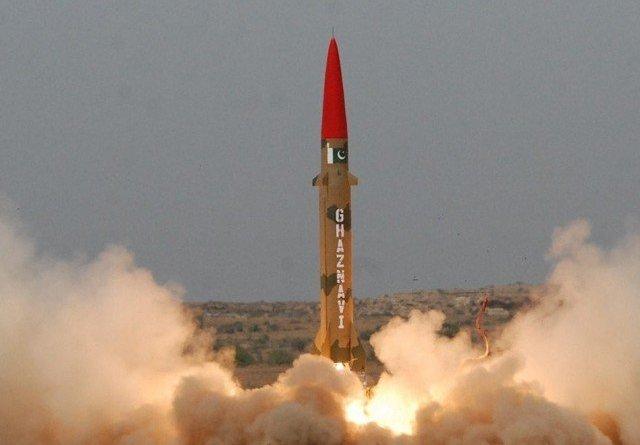 Pakistan tests ballistic missile Ghaznavi