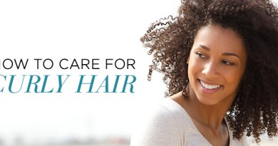 Curly hair tips