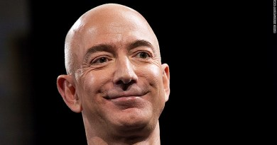 Jeff Bezos the world's richest man