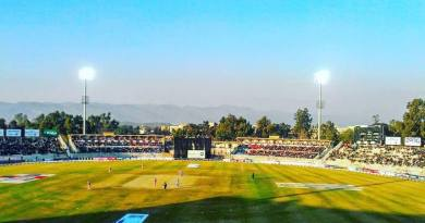 Pindi Cricket Stadium test match