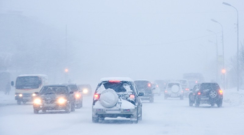 Snowstorm in USA